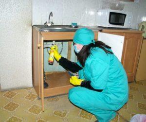 Уничтожение тараканов дома