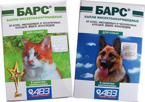 Как применять Барс от блох для кошек и собак