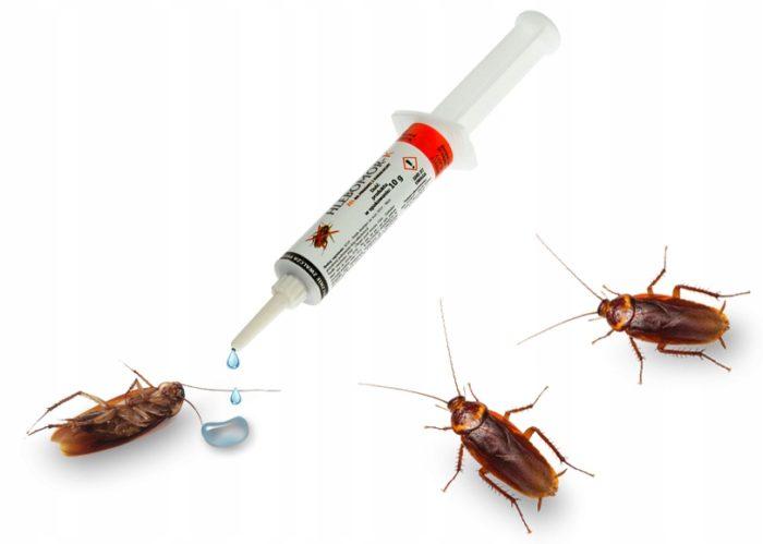 Гели против тараканов